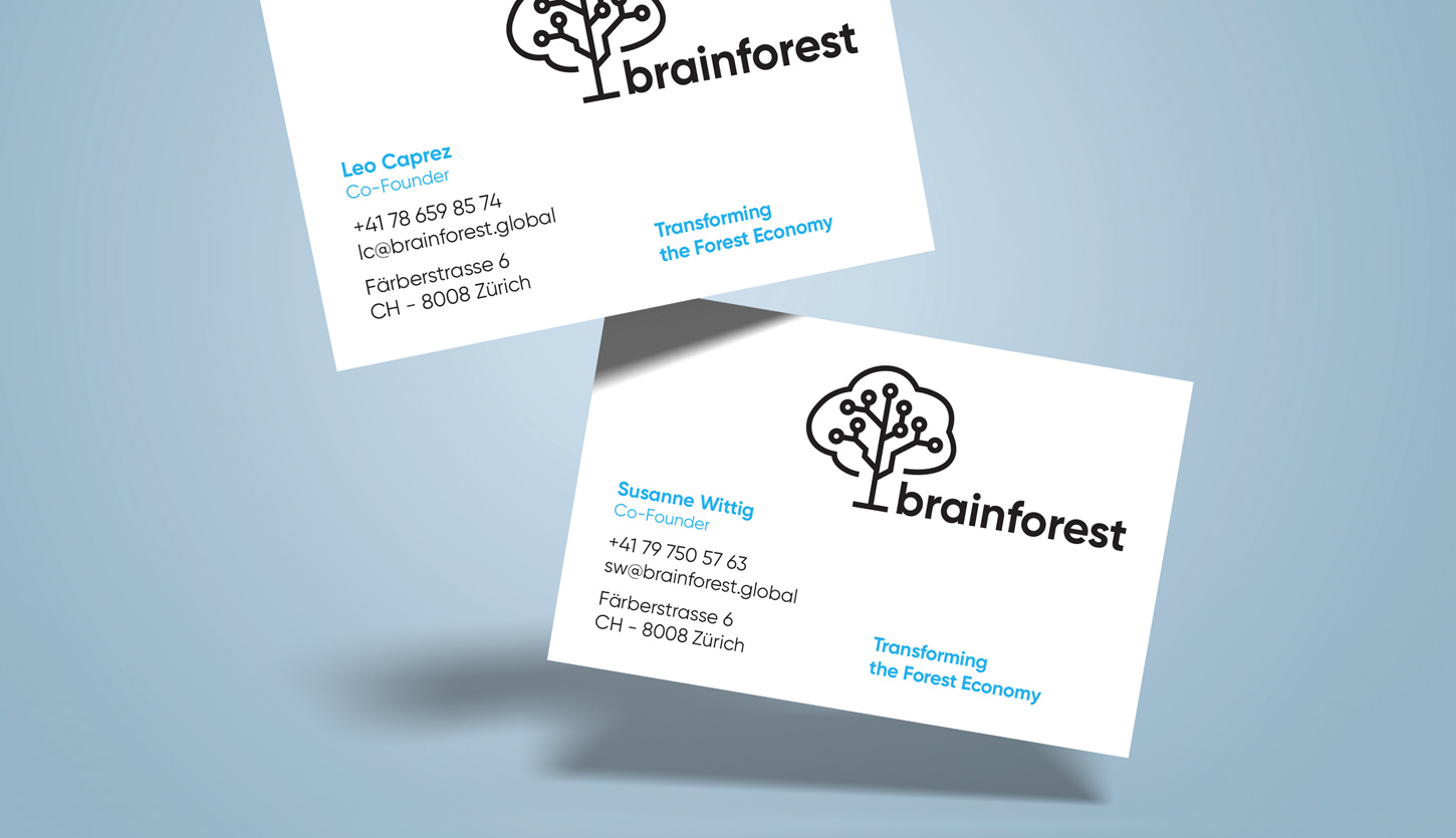 Case Brainforest Businesscards