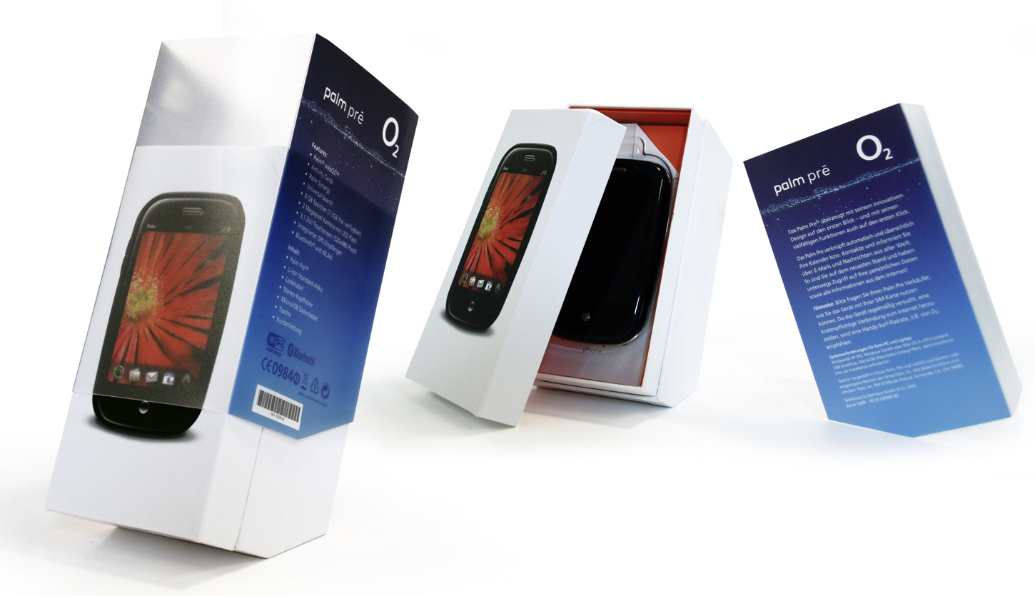 Case o2 palmpre-packaging